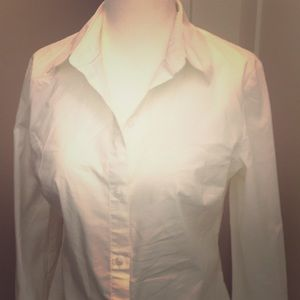 White collar shirt